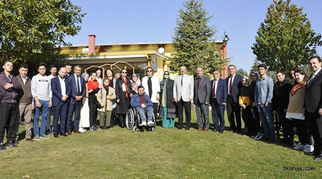 SÜ Engelli Öğrenci Birimi, yeni dönem öğrencileriyle buluştu