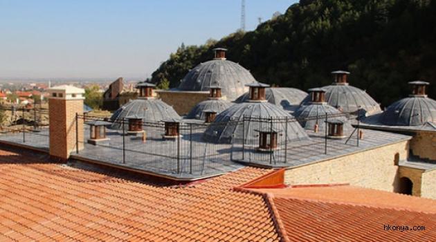 Tarihi Yukarı Hamam'ın restorasyonunun büyük bölümü tamamlandı