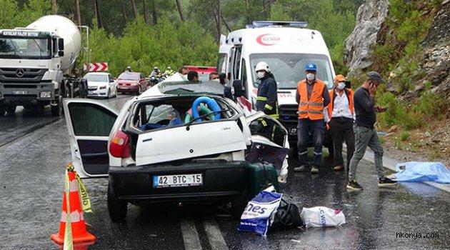 Trafik kazası 2 ölü