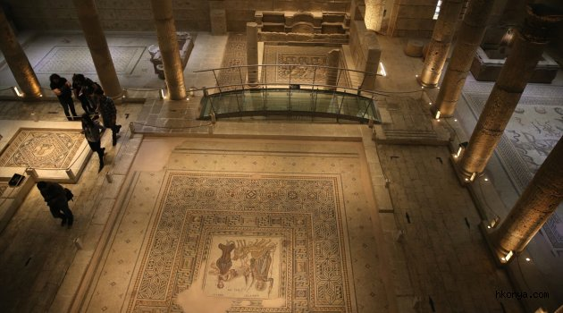Zeugma Müzesi 3 günlük tatilde rekor ziyaretçi ağırladı