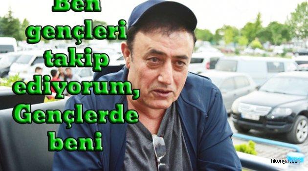 Mahmut Tuncer Konya'daydı