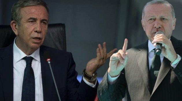 Mansur Yavaş: Israrları devam ederse Erdoğan'la görüşeceğim