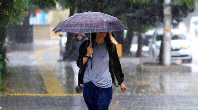 Meteoroloji'den 13 il için sağanak yağış uyarısı