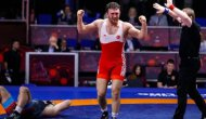 Milli güreşçimiz Süleyman Karadeniz, Avrupa şampiyonu oldu!