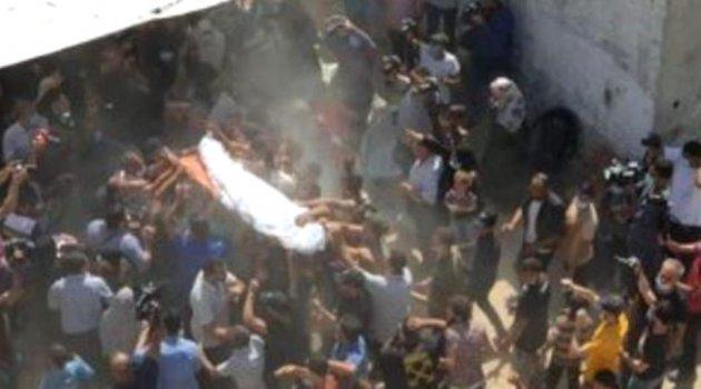 Mısır ordusu tarafından vurulan Filistinli balıkçılar Gazze'de toprağa verildi