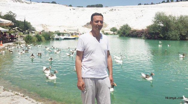 Osman Kabalcı Pamukkale'de