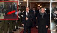 Putin, Filistinli askerin yere düşen şapkasını yerden alarak askere taktı