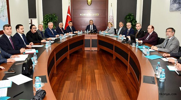 Şeb-i Arus Törenleri Tertip Komitesi İlk Toplantısını Gerçekleştirdi