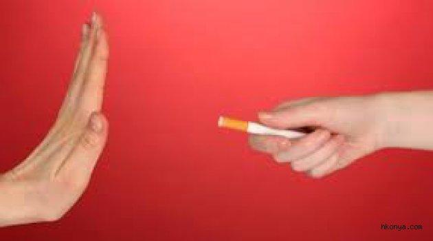 'sigarayı aniden bırakın' önerisi