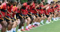 Galatasaray'da yeni transfer Cicaldau takımla çalıştı