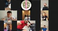 Antalyasporlu futbolcular telekonferansla antrenmanlara devam ediyor