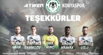 Atiker Konyaspor Bazı Futbolcularla Yollarını Ayırdı
