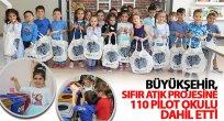 Büyükşehir, Sıfır Atık Projesine 110 Pilot Okulu Dahil Etti