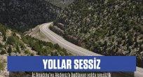 Konya-Antalya kara yolunda salgın sessizliği