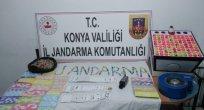 Konya'da kumar oynadıkları belirlenen 38 kişiye para cezası verildi