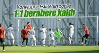 Konyaspor, Eskişehirspor 1-1