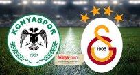 Konyaspor-Galatasaray muhtemel 11'leri