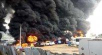Nijerya'da petrol tankeri patladı, 25 kişi öldü