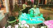 Nurşen Akın ve eşi Ladik'te
