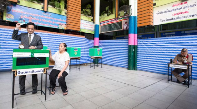 Tayland'da darbeden sonra ilk seçim
