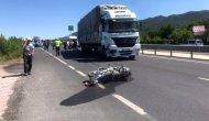 Tırla çarpışan motosikletteki karı koca öldü