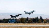 Uçaklar eğitim uçuşu gerçekleştirdi