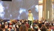 Ünlü şarkıcı konsere deniz taksiyle yetişti