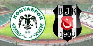 Konyaspor 2-2 Beşiktaş Maç özeti 7 Ekim 2018