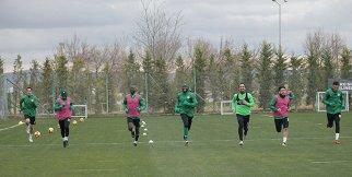 Konyaspor, Akhisar hazırlıklarını sürdürdü