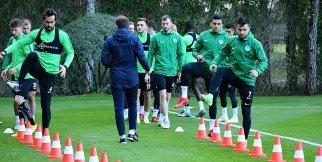 Konyaspor Antalya devre arası kampında 5.günü tamamladı