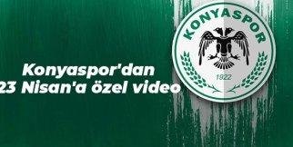 Konyaspor'dan 23 Nisan'a özel bir video